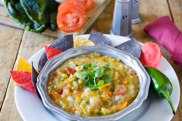 Roasted Green Chile Sauce image