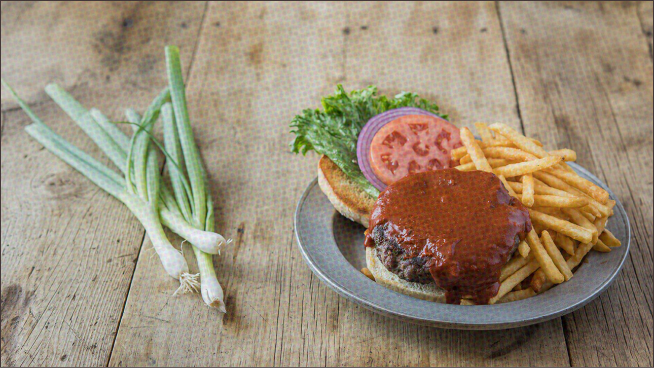 Housemade Red Chile Burger